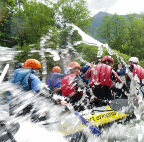 Rafting half day tour