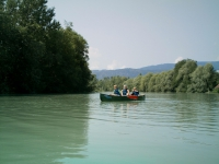 Canoe expedition on the River Drau